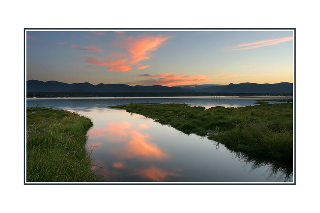 comox sundown Landscapes