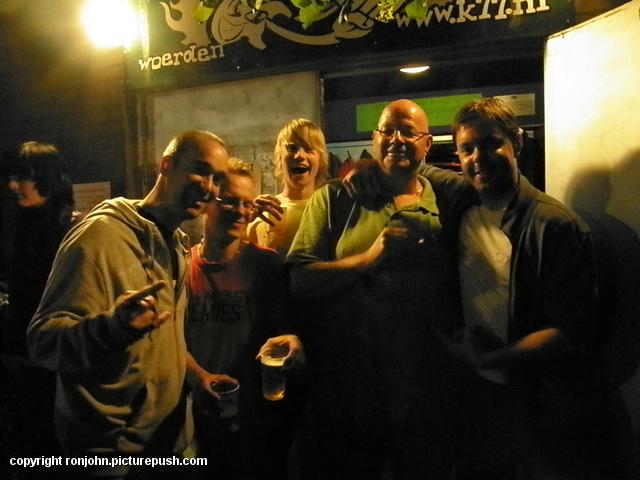 K77 Rene SG en Wrong Jeremies 20-06-09 28 Bij Rockbunker K'77