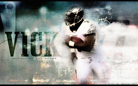 nfl wallpaper eagles. Eagles Michael Vick - NFL
