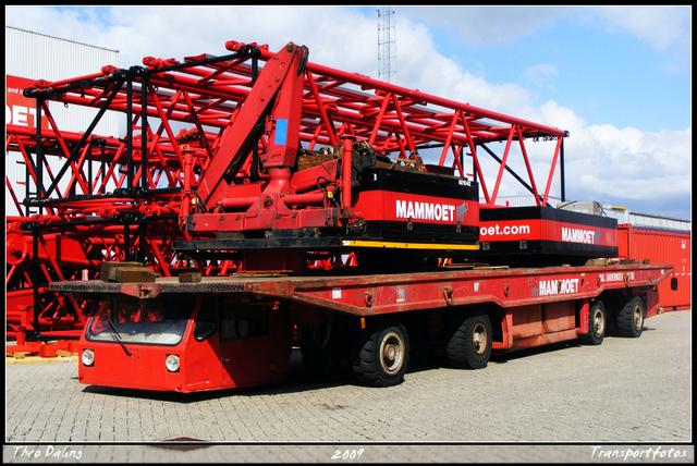 Scheuerle MPK 60.8.2 70 ton No 300736-border Mammoet schiedam open dag 12-9-2009