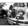 fishy british car - Black & White and Sepia