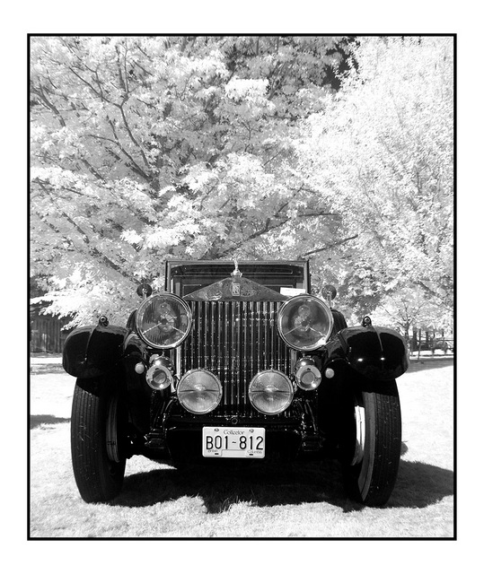 RR 1929 Infrared photography