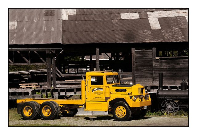 Baldwin Truck Automobile