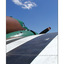striped plane - Aviation
