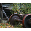 train wheels - Abandoned