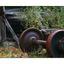 train wheels - Abandoned