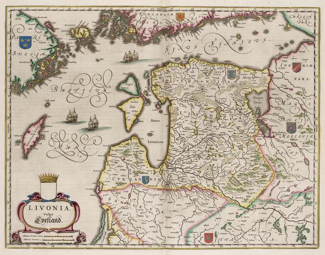 Kaart van Finland Old maps of Finland