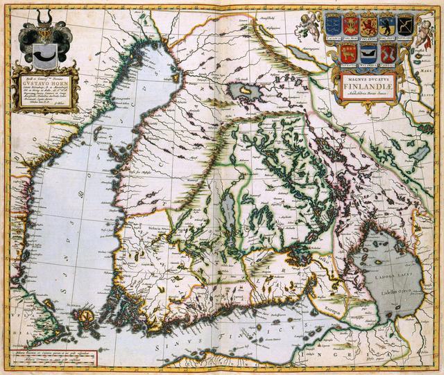 MAGNUS DVCATVS FINLANDIAE Old maps of Finland