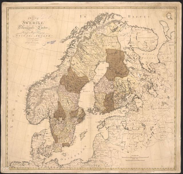 Map of Sweden Old maps of Finland