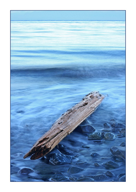Kye Bay Driftwood blue Landscapes
