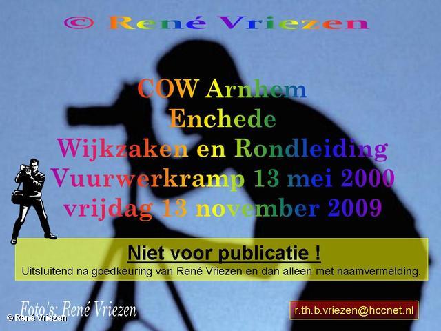 René Vriezen 2009-11-13 #0000 COW Enschede vrijdag 13 november 2009