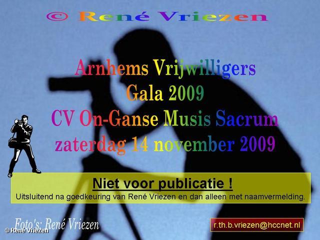 René Vriezen 2009-11-14 #0000 Arnhems Vrijwilligers Gala 2009 Musis Sacrum zaterdag 14 november 2009