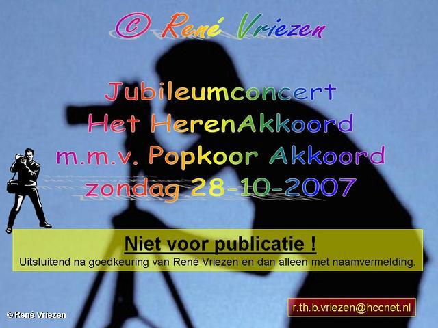 ©René Vriezen 2007-10-28 #0000 HerenAkkoord Jubileum Concert zondag 28-10-2007