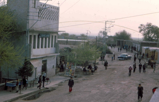 cisze Afghanstan 1971, on the road