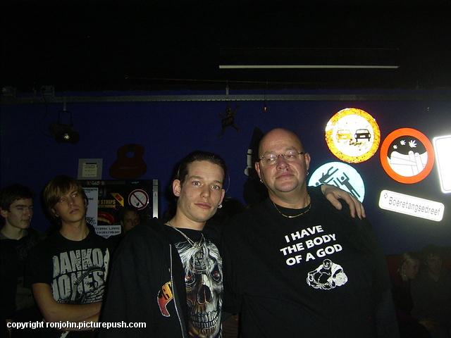 K77 Open Podium 29-11-09 (13) Bij Rockbunker K'77