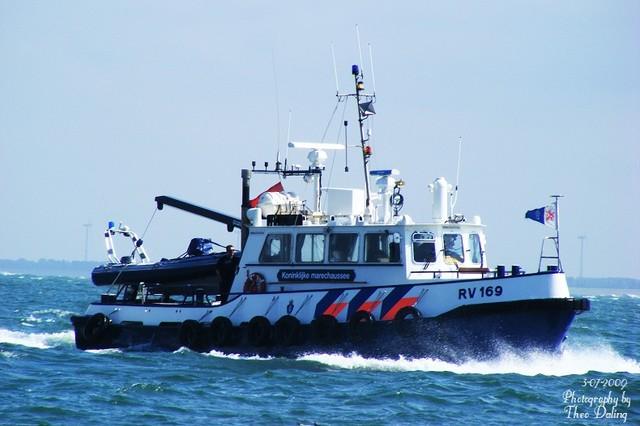 RV 169 Koninklijke marechaussee Boot Vlissingen-bo Vaartuigen