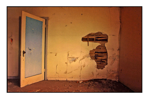 Abandoned room Abandoned