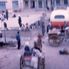 herat bussen taxi achter hotel - Afghanstan 1971, on the road