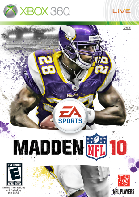 Adrian Peterson 10 Cover by CSC Madden