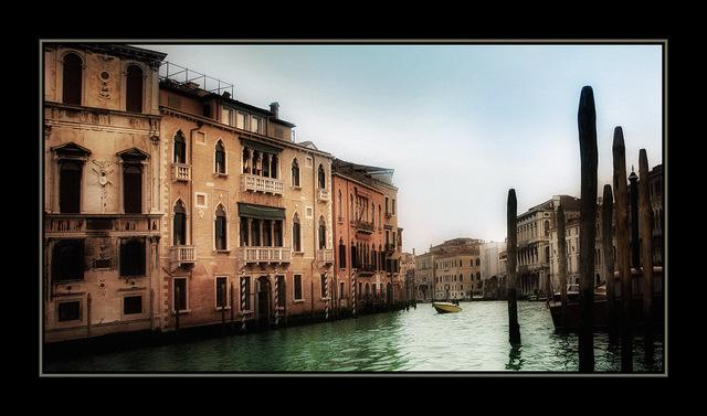 venice canal Venice & Burano