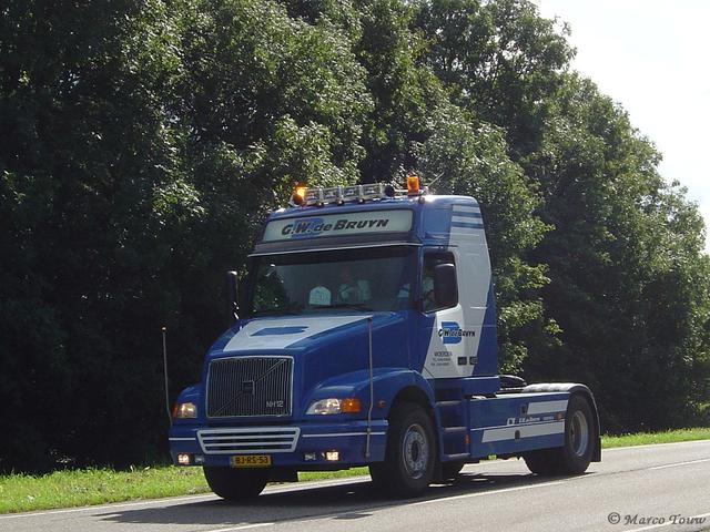 De Bruyn Koeriers.G W De Bruyn Woerden Bj Opsporing Volvo Nh Foto Album Van