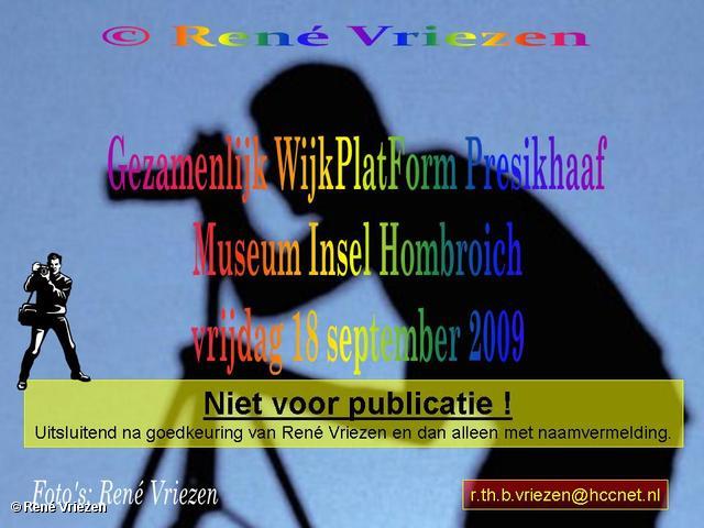 René Vriezen 2009-09-18 #0000 Gez. WijkPlatForm Presikhaaf Museum Insel Hombroich vrijdag 18 september 2009