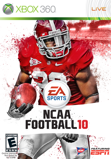 Mark Ingram 10 Cover by CSC NCAA