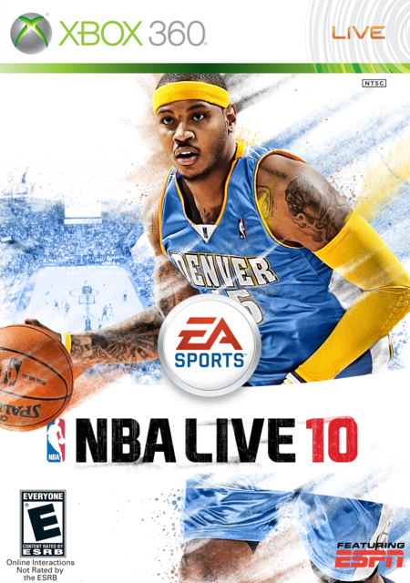 Carmelo Anthony 10 Cover by CSC NBA Live