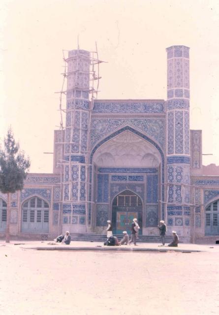 Herat Mosk Afghanstan 1971, on the road