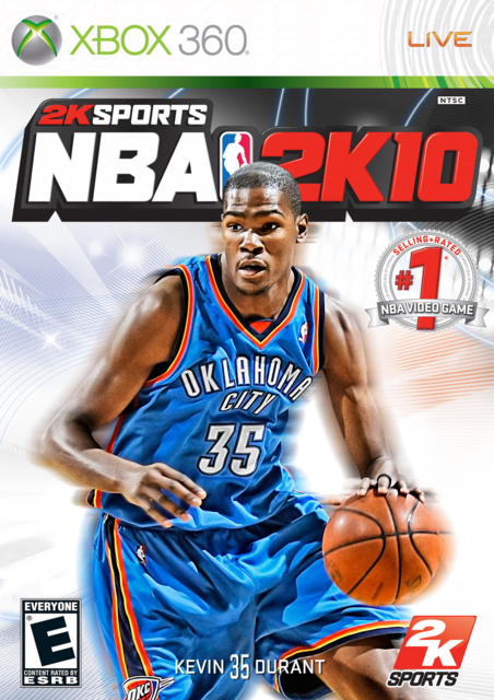 Kevin Durant 2K10 Cover NBA