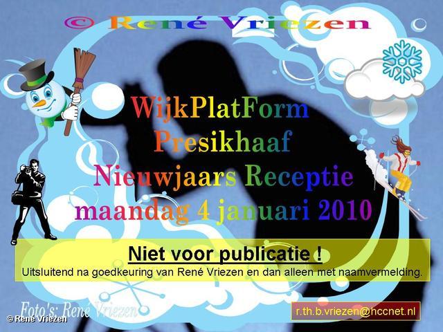René Vriezen 2010-01-04 #0000 WijkPlatForm Presikhaaf Nieuwjaars Receptie MFC maandag 4 januari 2010