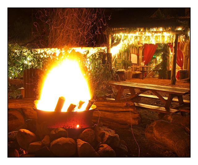 Woodland fire Comox Valley