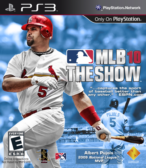Albert Pujols Show 10 Cover by CSC MLB The Show