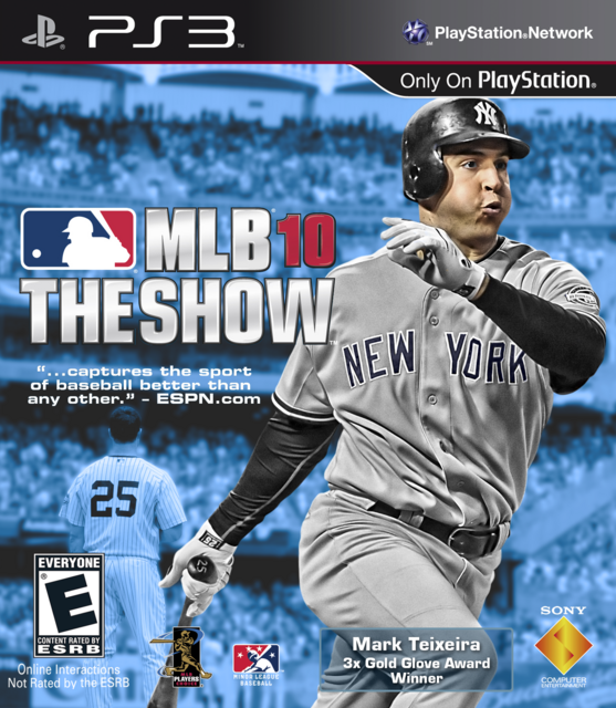 Mark Teixeira Show 10 Cover by CSC MLB The Show
