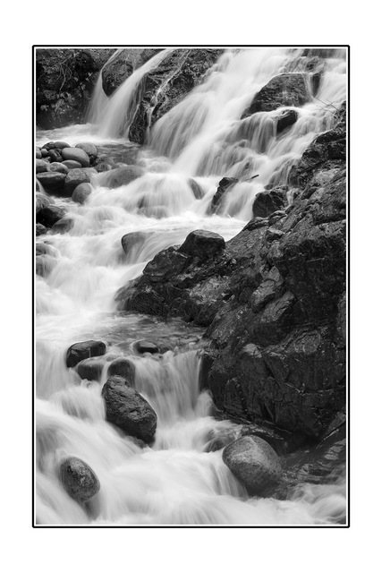 Englishman River B&W 2 Black & White and Sepia