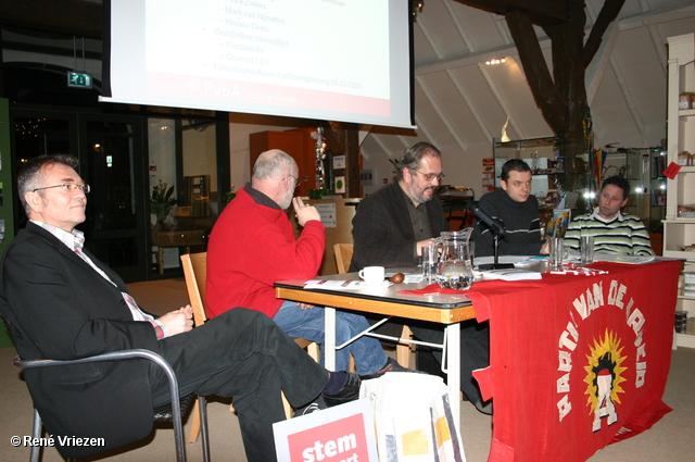 René Vriezen 2009-12-16 #0082 PvdA Arnhem bijeenkomst vaststellen kandidaten GR2010 woensdag 16 december 2009