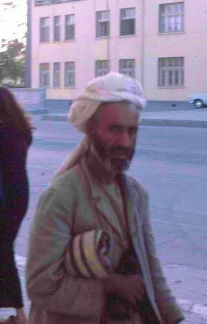kabul someone Afghanstan 1971, on the road