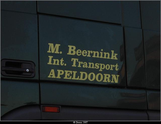 Beernink2 Beernink, M - Apeldoorn