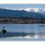 Comox Glacier - with heron ... - Landscapes