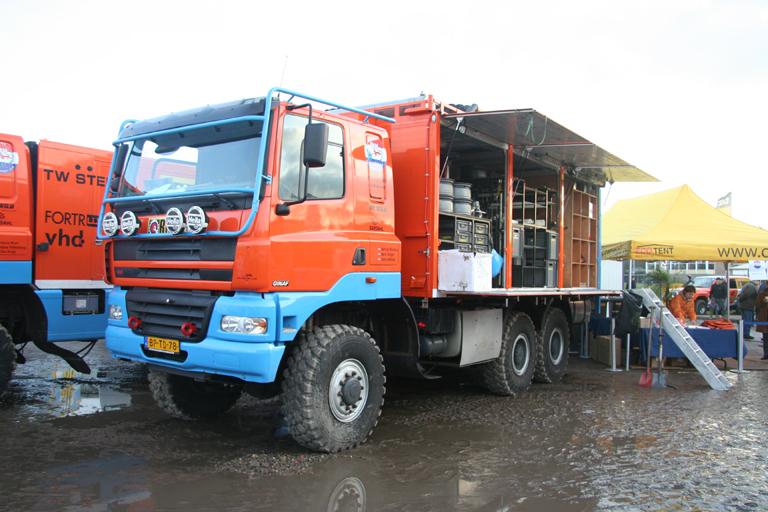 SP Ginaf Dakar Sport Service Truck (2007-7) -