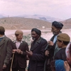 koerdische mannen - Afghanstan 1971, on the road