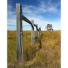 --Fence in Saskatchewan - Saskatchewan