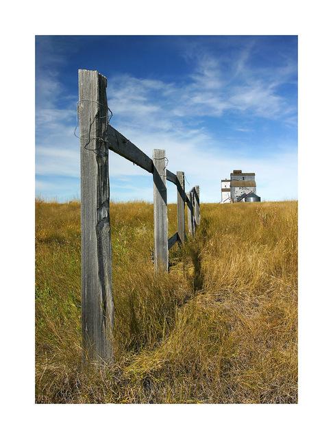 --Fence in Saskatchewan Saskatchewan