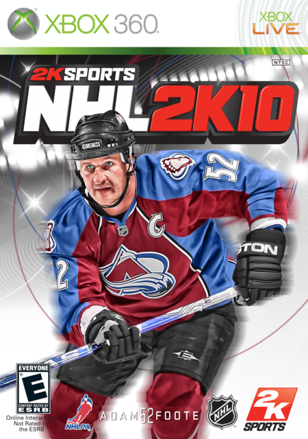 Adam Foote 2K10 Cover by CSC NHL 2K