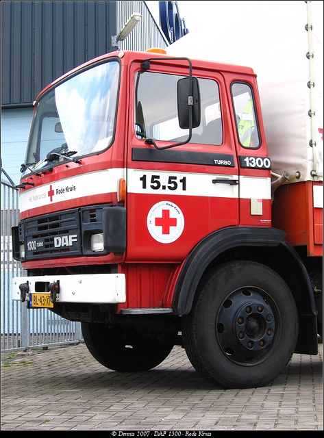 Kruis3 DAF 1300 - Rode Kruis
