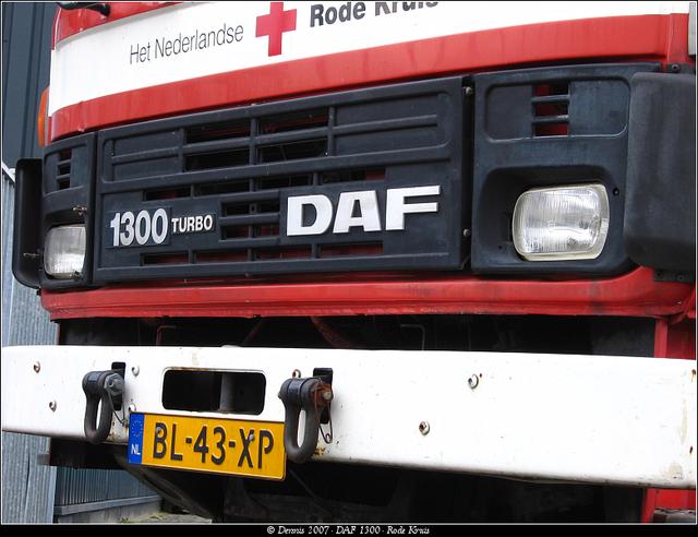 Kruis6 DAF 1300 - Rode Kruis