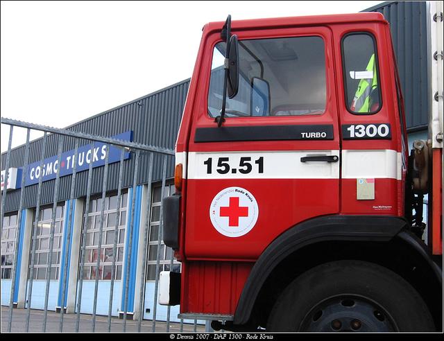 Kruis7 DAF 1300 - Rode Kruis