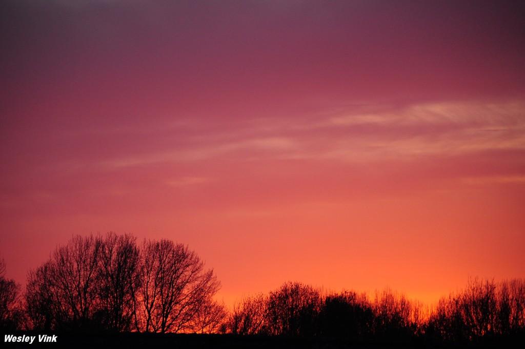 zonsondergang (rood) 15-04 034 -
