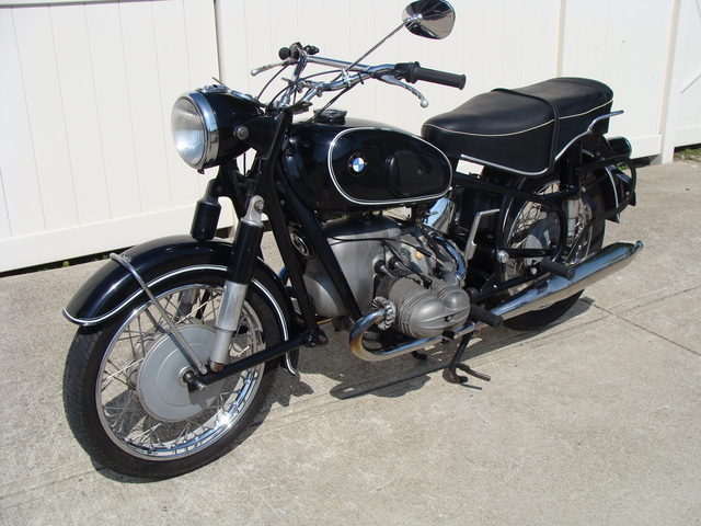 662671 '67 R69S Black, Wixom Bags & Fairing 001 SOLD....1967 BMW R69S #662671 Black, 41,000 Miles. Wixom Bags & Fairing w/Lowers.