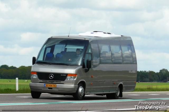 Doornbos - Groningen  BX-NN-78-border Touringcar's  Diverse